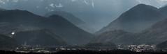 Vintage Mountains (think4d) Tags: mountains alps salzburg sterreich oldschool berge alpen vintagelook weitsicht