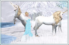 139 (Sannita_Cortes) Tags: snowflake winter storm fashion lashes dress skin earring makeup frosty fair sl secondlife blonde lipstick gown unicorn gems poe winterstorm dva virtualfashion dulcesecrets xiasboutiquewintersnowicepeaceonearthhunt wintervillagewonderland