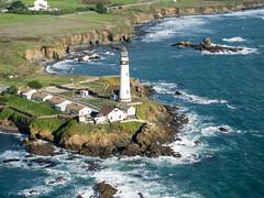 Point Pigeon Lighthouse (jp3g) Tags: california lighthouse point coast san francisco pigeon olympus cessna omd em5