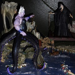 Deadly Duo (MaxxieJames) Tags: sea ariel toy toys little action witch ooak disney figure mermaids customized mermaid custom ursula figures tentacles