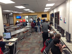 """2014 Hour of Code • <a style=""""font-size:0.8em;"""" href=""""http://www.flickr.com/photos/109120354@N07/15475208803/"""" target=""""_blank"""">View on Flickr</a>"""