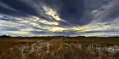 Shark Valley (Armin Hage) Tags: sunset nationalpark florida miami swamp everglades sharkvalley
