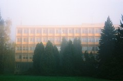 Kiev 4 + Jupiter-8M 53/2 - Hospital Impressions (Kojotisko) Tags: brno cc creativecommons czechrepublic kiev4 jupiter8