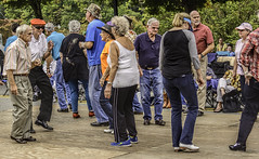 Hit The Dance Floor (Wes Iversen) Tags: people men women dancers dancing northcarolina vacations mtairy autumnleavesfestival nikkor18300mm