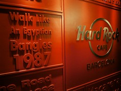 Hard Rock Cafe (lkeogan89) Tags: barcelona travel holiday rock cafe hard wanderlust 2014