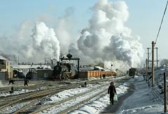 Didao Farewell (Kingmoor Klickr) Tags: china industrial steam sy 1213 1081 washery 0950 heilongjiangprovince didao