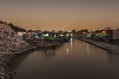 Lau Fau Shan () Tags: sunset hongkong boat oyster   magichour fishman yuenlong   laufaushan laufaushan