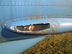 Broken Open (Lunken Spotter) Tags: ohio rural radio plane airplane evening flying construction memorial rivets aviation military airplanes flight navy engine baltimore engines planes blisters blister oh propellers preserved roadside naval usnavy patrol prop veterans evenings p2 coldwar vfw rivet navalaviation veteransmemorial usmilitary veteransofforeignwars asw antisubmarine p2v antisubmarinewarfare ruralohio centralohio lockheedp2vneptune preservedaircraft vfwpost 131522 sp2e patrolplane preservedairplane lockheedp2neptune p2v5fs vfwpost3761 roadsideairplane
