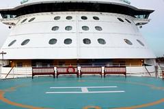 The Bridge (Prayitno / Thank you for (5 millions +) views) Tags: bridge cruise ship radiance platform pad royal line landing helicopter caribbean heli seas rcl rccl radianceoftheseas konomark royalwow wowcruise