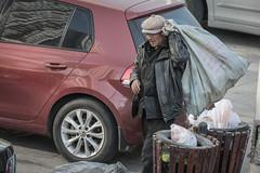 Man and his trash (asorrell80) Tags: china camera people trash lens photography nikon place oldman   recycling 70200 shenyang f28 liaoning d600