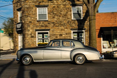 Rolls-Royce Silver Cloud III (Rivitography) Tags: old newyork green car canon vintage silver rebel automobile antique connecticut greenwich rollsroyce adobe ii british t3 expensive luxury lightroom 2014 silvercloud oldgreenwich rivitography gst5583