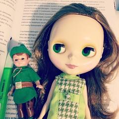 Greenish Sunday~ #green #MadameAlexander #peterpan #blythedoll #primadollyashlette #blythe #doll #love #takaratomy #sbl