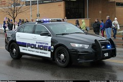 Barberton Police Ford Taurus (Seluryar) Tags: justin ohio ford police funeral fallen procession taurus department officer akron barberton winebrenner