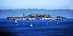 Alcatraz Island, San Francisco Bay, California, U.S.A. (Lago Tanganyika) Tags: california usa escape guard haunted prison jail sanfranciscobay alcapone prisoner alcatrazisland citybythebay penetentary