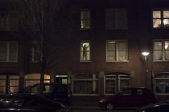 Amsterdam - winter evening (juliehrudova) Tags: street travel light shadow urban streets holland netherlands amsterdam night composition photography graphic cities nightlife silhouet minimalsim