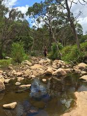 grampians 354 (raqib) Tags: holiday nature trekking bush rocks stream hiking australia grampians hike bushwalking hallsgap rockformation grampiansnationalpark