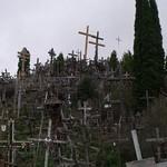 Kein Friedhof, sondern der Berg der Kreuze nahe Siauliai.