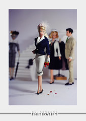 L'atelier (thitipatify) Tags: classic love robert fashion architecture vintage magazine toy model glamour doll quality barbie best retro hollywood glam gown diorama silkstone robertbest