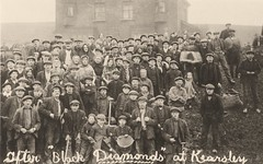 Kearsley mining families coal picking, 1921 strike (Pitheadgear) Tags: blackandwhite industry monochrome pits mine pit lancashire mining bolton mines geology coal strikes miner miners colliery kearsley coalminer charbon coalminers bergmann industrialaction farnworth industrialhistory minersstrike collieries kersley stoneclough bergwerker houillier puitsdecharbon 1921strike