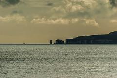 Old Harry Rocks (Cissa Rego) Tags: dog seascape storm beach nature vw clouds landscape pier seaside nikon squirrel surfer seagull feather nikond70s hut pack oystercatcher beachhut crow raven groyne vwvan oldharryrocks