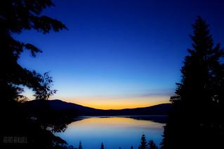 Sunrise on Lake Almanor
