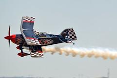 Tinstix Opposition Aerobatics (Robert Frola Aviation Photographer) Tags: biplane nikond3200 pittsspecial 2013 ymav skipstewart aerobaticaircraft pittss2 n540s avalonairshow2013