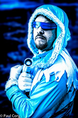 Captain Cold (Paul Cory) Tags: camera atlanta summer portrait people man georgia season costume gun unitedstates weapon cosplayer dccomics onlocation dragoncon sciencefictionconvention supervillain postprocessing canoncamera captaincold privatecommission canon5dmkiii waltonspringpark macphun briankeason dragoncon2014 intensifypro