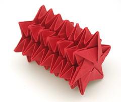 Fujimoto Star spring (B13) (Pliages et vagabondages) Tags: star origami fujimoto