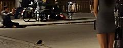 La Fiance du Photographe ~ Red Bridge ~ Paris ~ MjYj (MjYj) Tags: world life street city bridge light sunset red urban woman paris sexy art texture love beauty saint fashion dark soleil war couple pretty solitude noir day boulevard photographer time femme details creative documentary dancer more event cover amour promenade record romantic paparazzi eden contract feeling curved something reflets chronicles pleasure ville homme germain tendre encounters espoir somethingmore freelancers mjyj mjyj