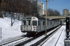 TORONTO--H1 5447 appr Rosedale Station IB (milantram) Tags: toronto ttc subways electricrailtransport railsystemstoronto