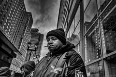 Philadelphia, 2014 (Alan Barr) Tags: street people blackandwhite bw philadelphia monochrome mono blackwhite candid streetphotography sp streetphoto gr marketstreet ricoh 2014 marketstreeteast