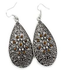 5th Avenue Brown Earrings P5310-1