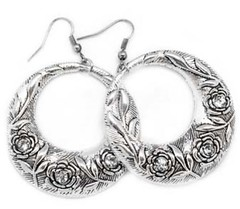 5th Avenue White Earrings P5610A-2