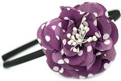 Glimpse of Malibu Purple Headband K2 P6520A-3