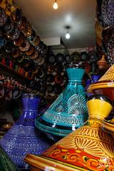 Tajine (andrea.prave) Tags: art colors shop shopping colours market cook morocco maroc marocco marrakech souk marrakesh colori mercato cucina suk tajine suq   almamlaka decoro   decorati sq  visitmorocco almaghribiyya tourdelmarocco