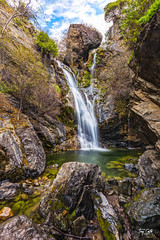 20150118 Salmon Creek Waterfall-1 (Tony Castle) Tags: california park nature creek canon landscape waterfall long exposure salmon layers 6d 1635mm