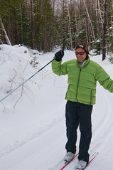 (wesbl) Tags: snow me skiing maine wes rangeley xcskiing aruna