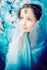 ,   ! (MissSmile) Tags: blue light girl beautiful childhood studio kid child sweet magic wish delicate dreamlike misssmile