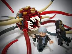 Rathtar (Takamichi Irie) Tags: monster star force lego solo wars creature chewie han chewbacca awakens rathtar