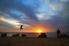 A beautiful evening yesterday in Gaza. (TeamPalestina) Tags: sunset sky sun sunrise canon landscape landscapes photo am amazing nice nikon photographer natural sweet live palestine comfort sunrays gaza beautifull palestinian  landscapecaptures