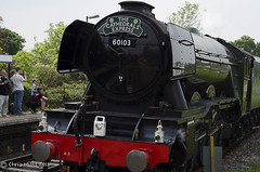 CJM_3204 (cjmillsnun@btinternet.com) Tags: heritage trains hampshire steam locomotive flyingscotsman steamlocomotive romsey nikond7000