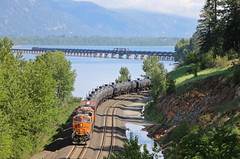 East Algoma, Idaho (UW1983) Tags: trains idaho bnsf railroads sandpoint algoma oiltrains