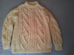 Aran fisherman wool jumper (Mytwist) Tags: irish classic wool fashion vintage fisherman knitting cream ivory craft style passion knitted aran pullover authentic textured laine vouge cabled aransweater mytwist aranjumper aranstyle tess1999tess