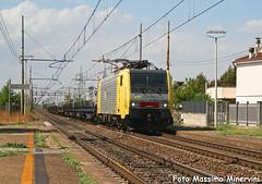 E189.913 NC (Massimo Minervini) Tags: train merci siemens rail db piacenza railroads trainz ferrovia locomotiva canon400d e189 cadeo nordcargo es64f4 e189nc e189913 lineamilanobologna dbsri