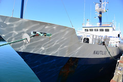 E/V Nautilus docked at Ogden Point, Victoria, BC (Ocean Networks Canada) Tags: nautilus ogdenpoint wiringtheabyss abyss16