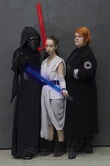 Star Wars (7) (Dezmin) Tags: light star order force general cosplay first 7 melbourne sabre rey ren wars episode hux crossplay awakens supanova kylo swtfa