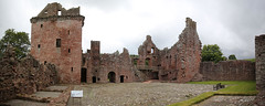 Edzell Castle (6) (arjayempee) Tags: castle scotland angus fortress towerhouse northesk forfarshire edzellcastle glenesk earlofcrawford lindsayofedzell courtyardcastle mounthpasses edzellcastlegardens av6a543840stitch stirlingofglenesk baronyofglenesk