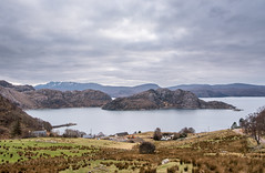 Lower Diabaig from Upper Diabaig (yabberdab) Tags: countries scotland westerross
