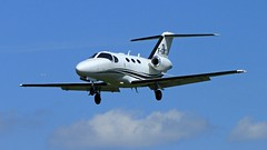 Cessna 510 Citation Mustang F-GMTJ (BIKEPILOT) Tags: sky flying airport aircraft aviation flight jet aeroplane cessna airfield aerodrome bizjet blackbushe eglk 510citationmustang fgmtj