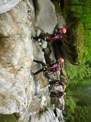 P1120411 (Mountain Sports Alpinschule) Tags: blue mountain sports lagoon canyoning zillertal zemmschlucht alpinschule